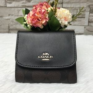 👜COACH🌺SMALL WALLET 4""